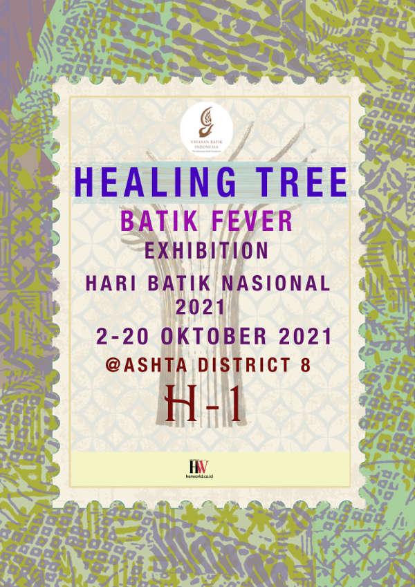 Healing Tree - Batik Fever Exhibition 2021