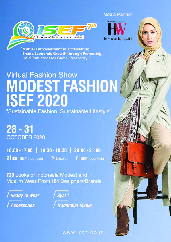 "Virtual Fashion Show ""MODEST FASHION ISEF 2020"""