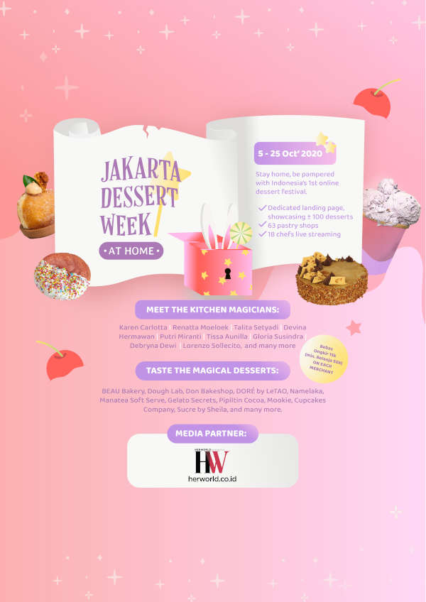 Jakarta Dessert Week at Home