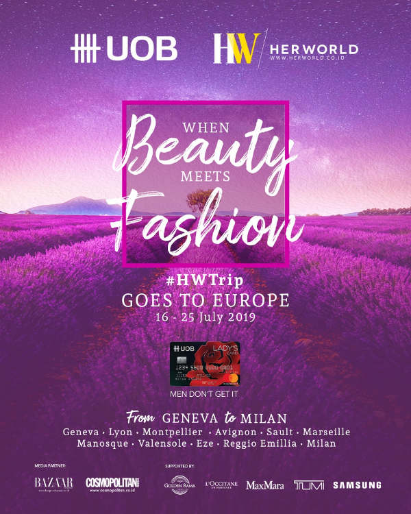 HW Trip Goes to Europe 2019: When Beauty Meets Fashion