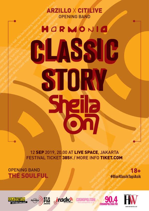 Harmonia Classic Story Sheila on 7