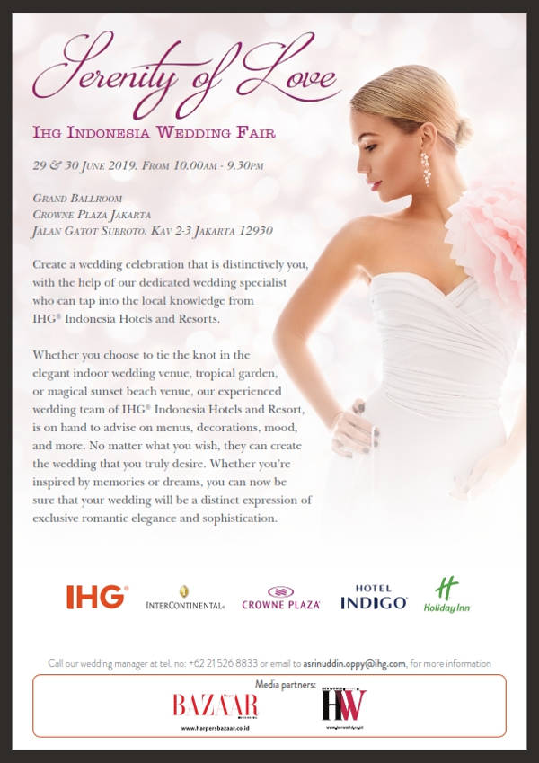 IHG INDONESIA WEDDING FAIR