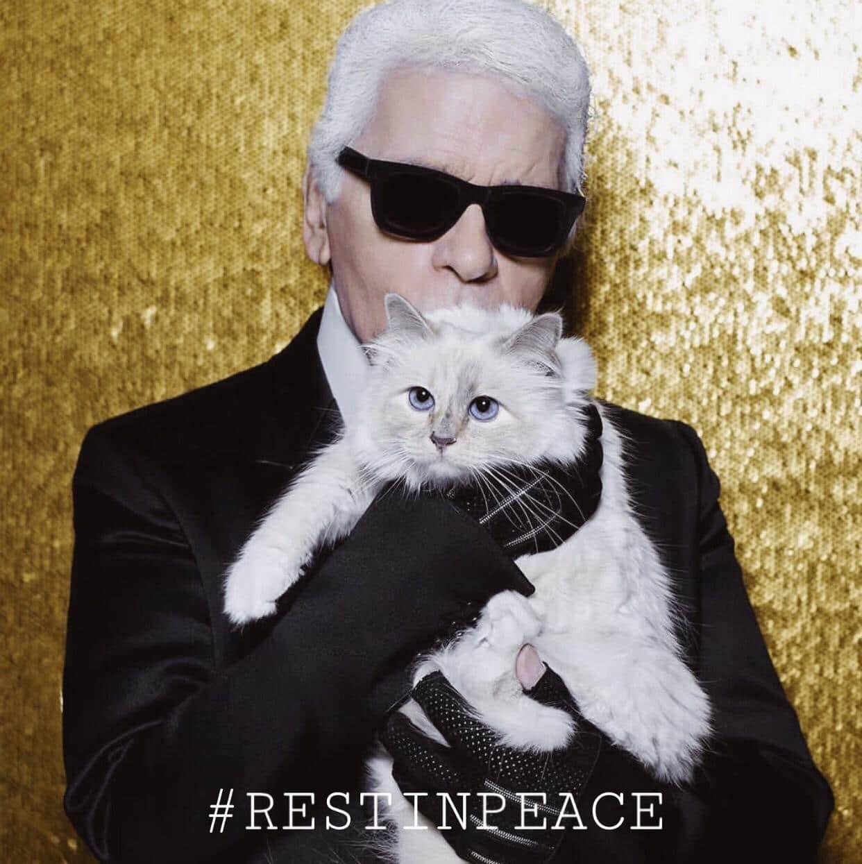 Ikon Fashion, Desainer Karl Lagerfeld Meninggal Dunia