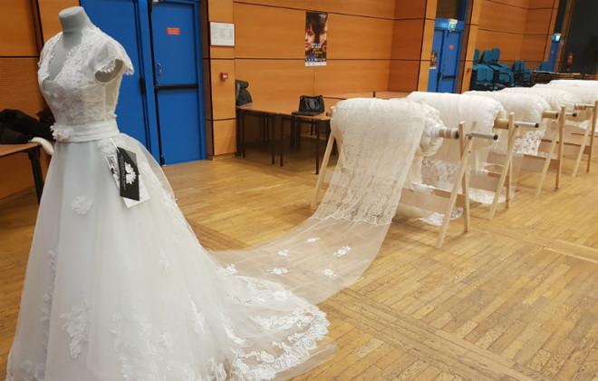Ini Dia Gaun Pengantin Terpanjang di Dunia