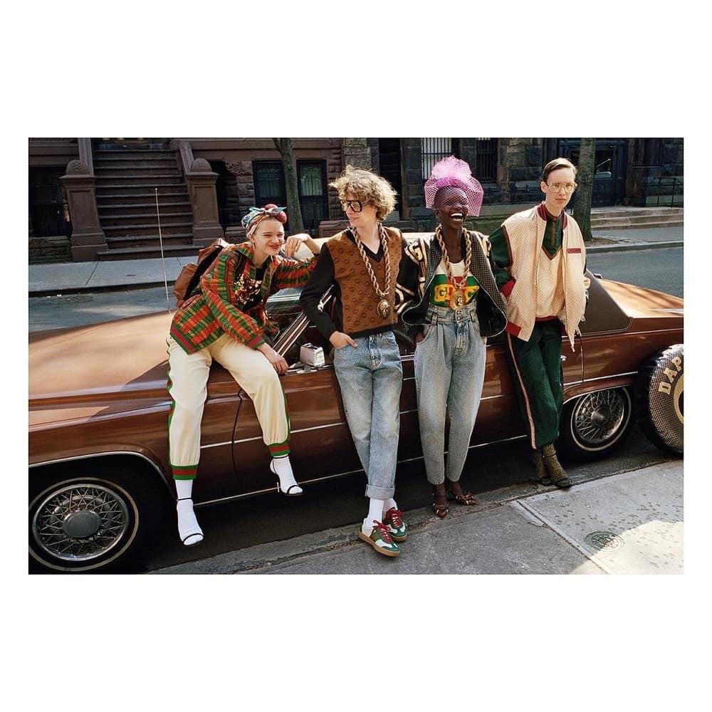 Inspirasi 1980-an di Kolaborasi Gucci X Dapper Dan