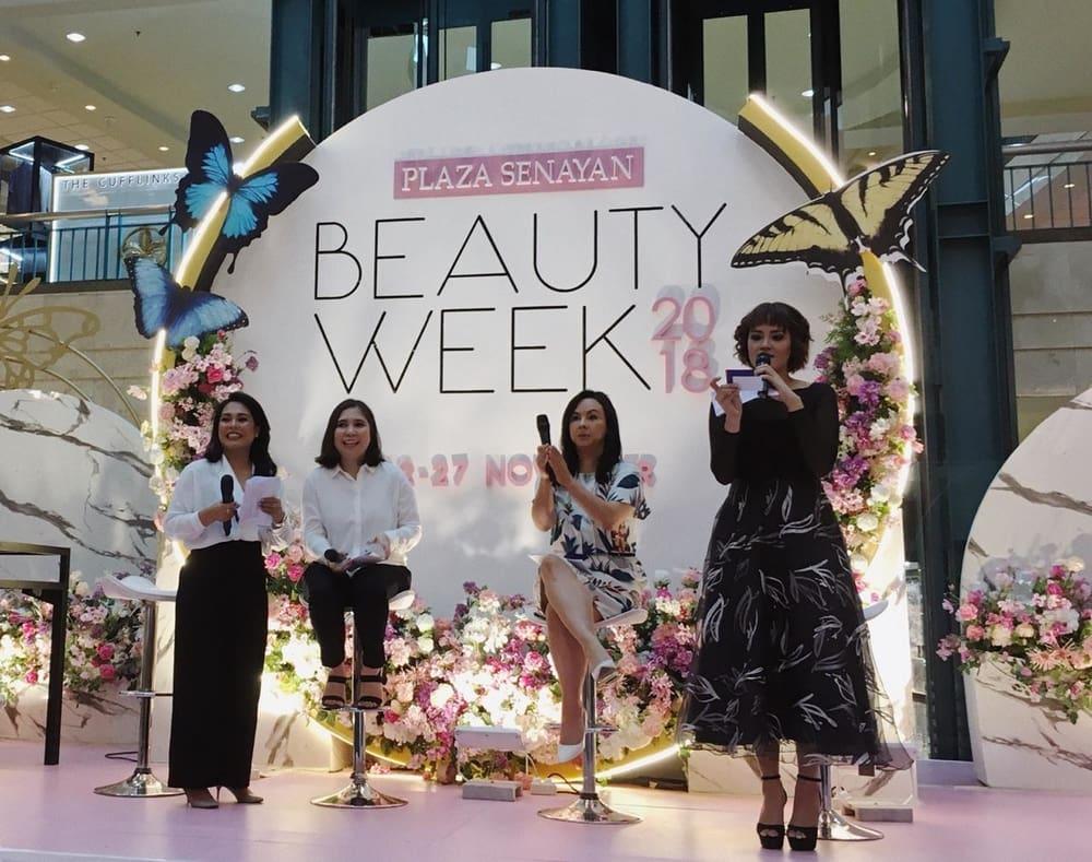 Inspirasi Tren Cantik di Plaza Senayan Beauty Week