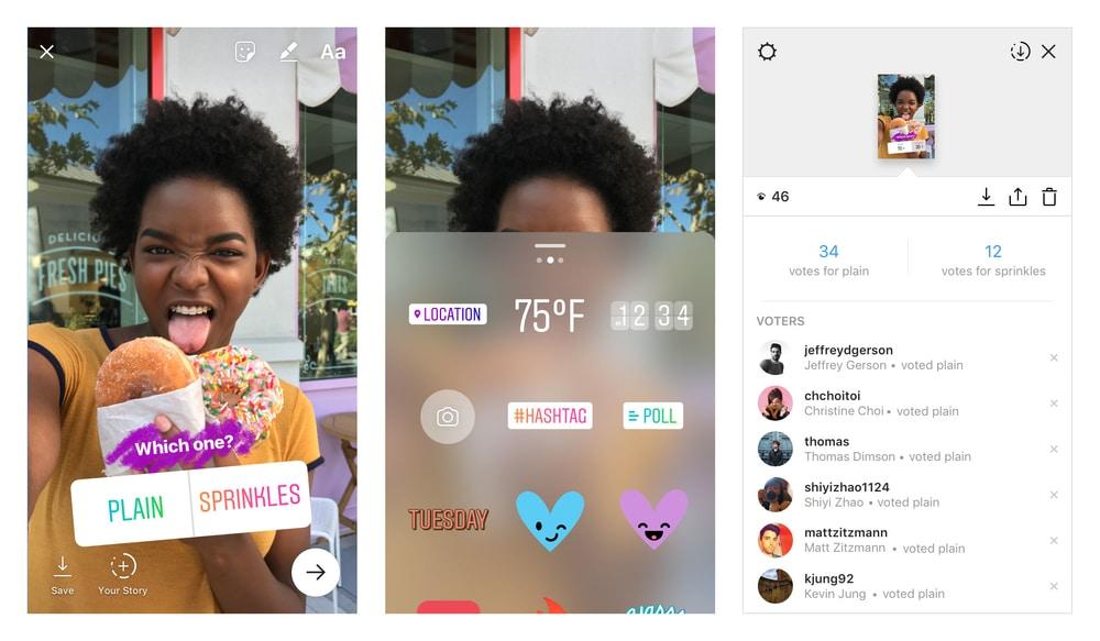 Instagram Hadirkan Fitur Stiker Polling untuk Stories