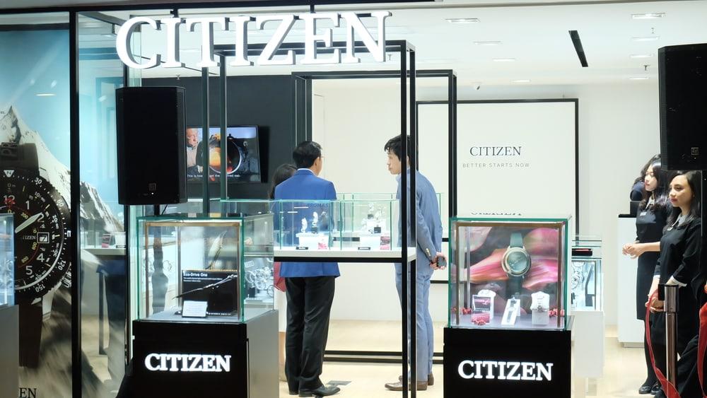 Intip Pembukaan Toko Citizen Pertama di Indonesia