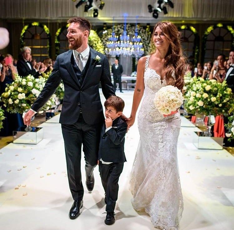 Intip Pernikahan Lionel Messi