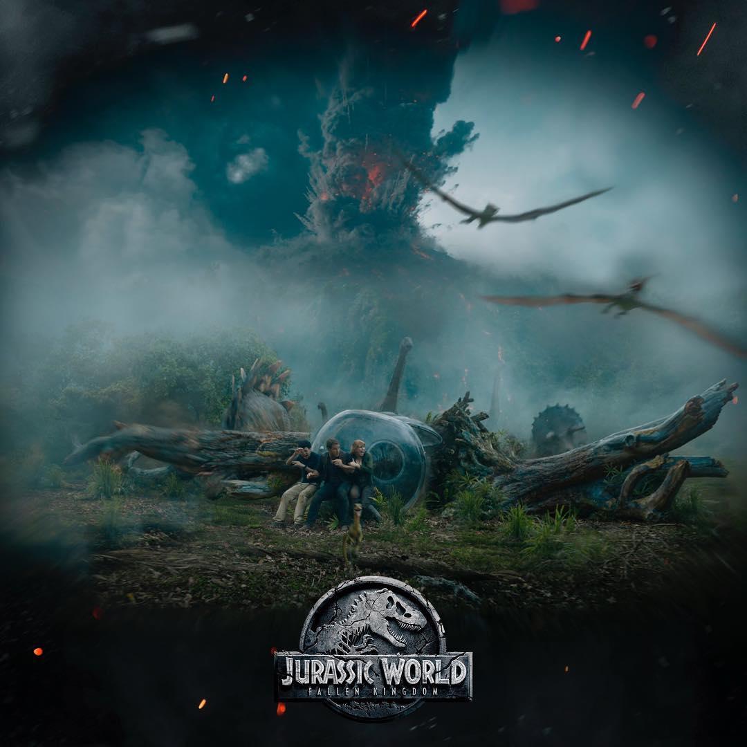 Intip Teaser Pertama Jurassic World: Fallen Kingdom