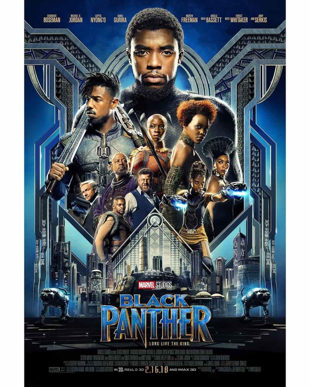 Intip Trailer Film Black Panther