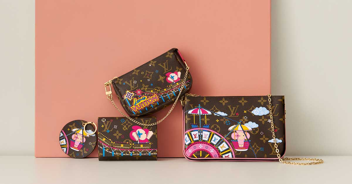 Koleksi Louis Vuitton Vivienne Holiday 2020