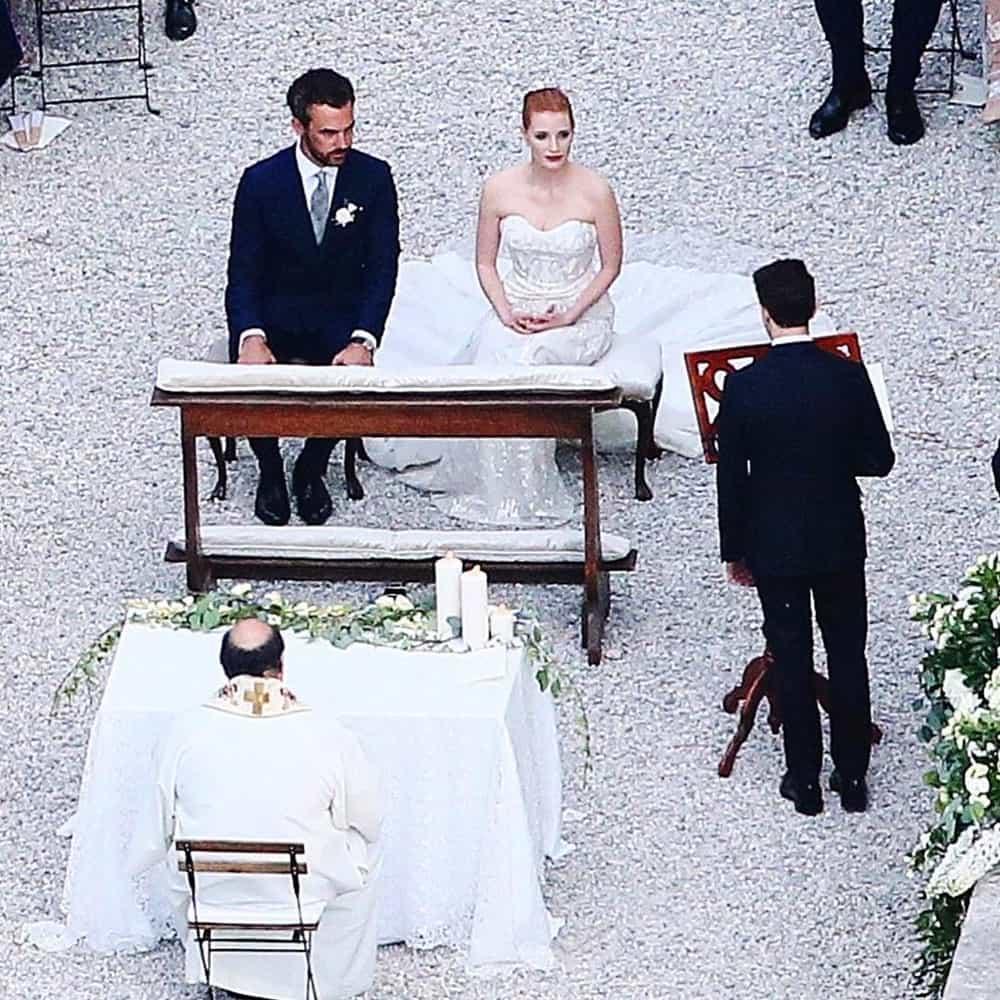 Jessica Chastain Menikahi Bangsawan Gian Luca Passi