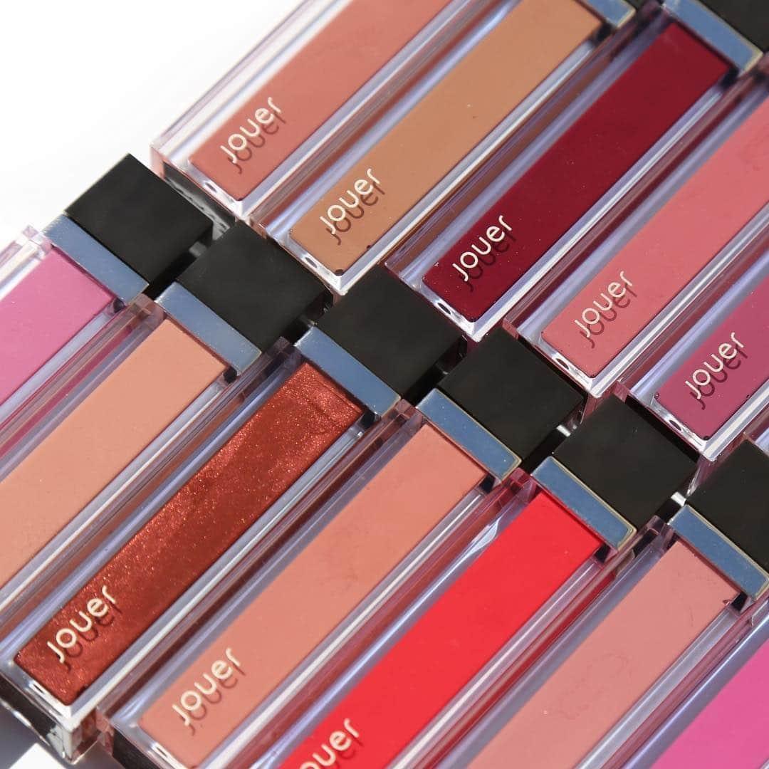 Jouer Hadirkan Lip Gloss Dengan Pigmentasi Tinggi