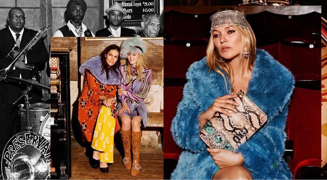 Kate Moss Bintangi Kampanye Iklan Miu Miu