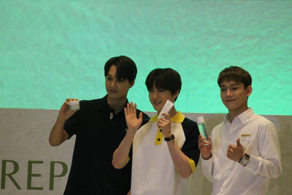 Kejutan EXO Saat Hadir di Peluncuran Nature Republic