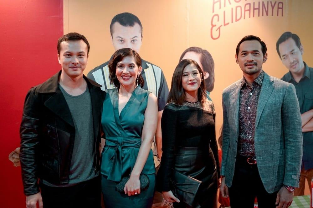Kemeriahan Gala Premiere Film 'Aruna dan Lidahnya'
