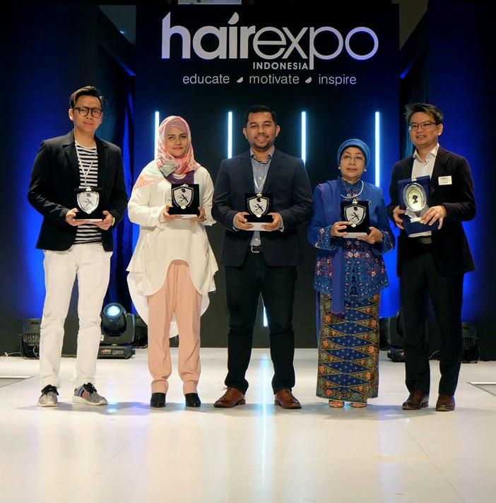 Kemeriahan Pembukaan Hair Expo Indonesia 2017