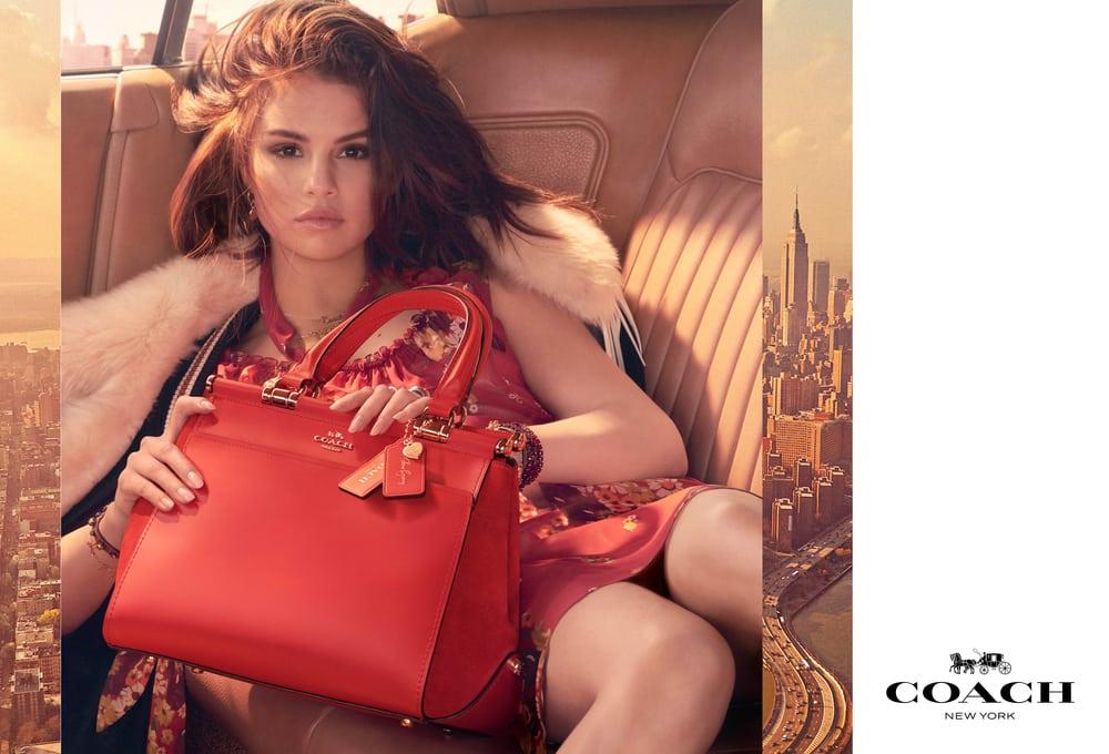 Kolaborasi Coach dan Selena Gomez