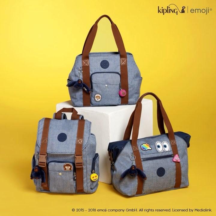 Kolaborasi Kipling Dan Emoji®