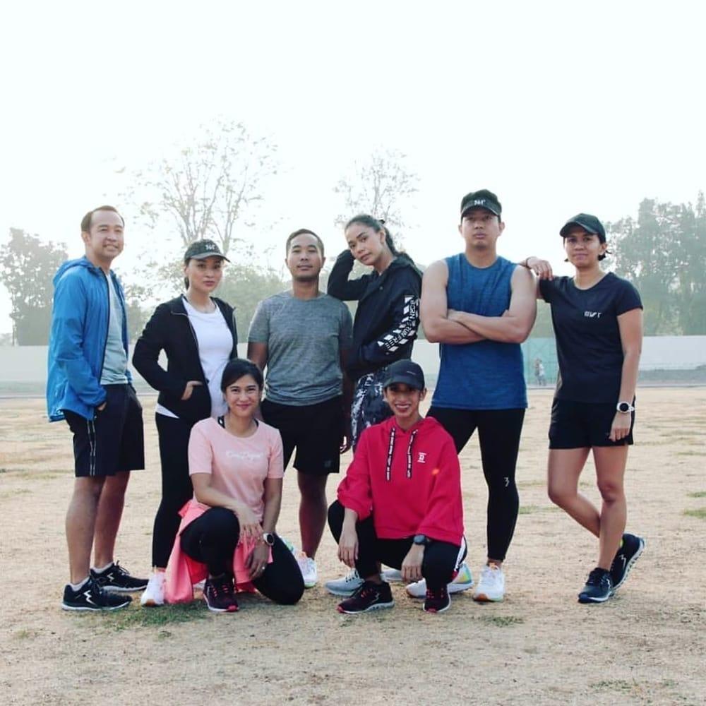 Kolaborasi 'Lari' Pertemanan Sehat dan 361 Degrees