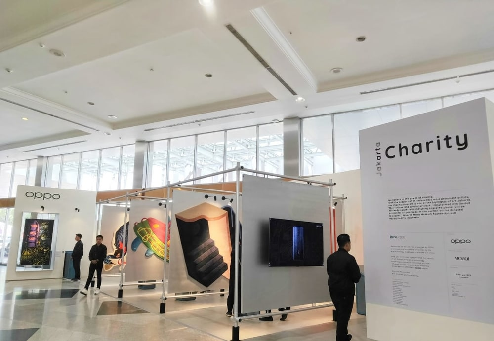 Kolaborasi Oppo dan 14 Seniman di Art Jakarta 2019