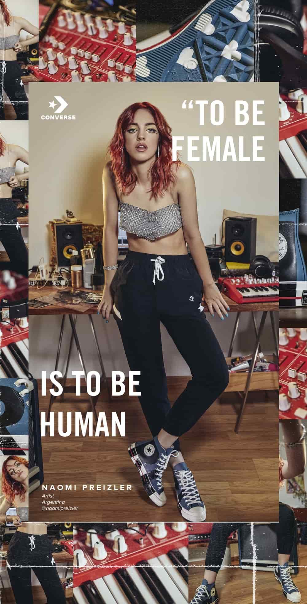 Koleksi Baru Converse Terinspirasi Ikon Wanita Kuat