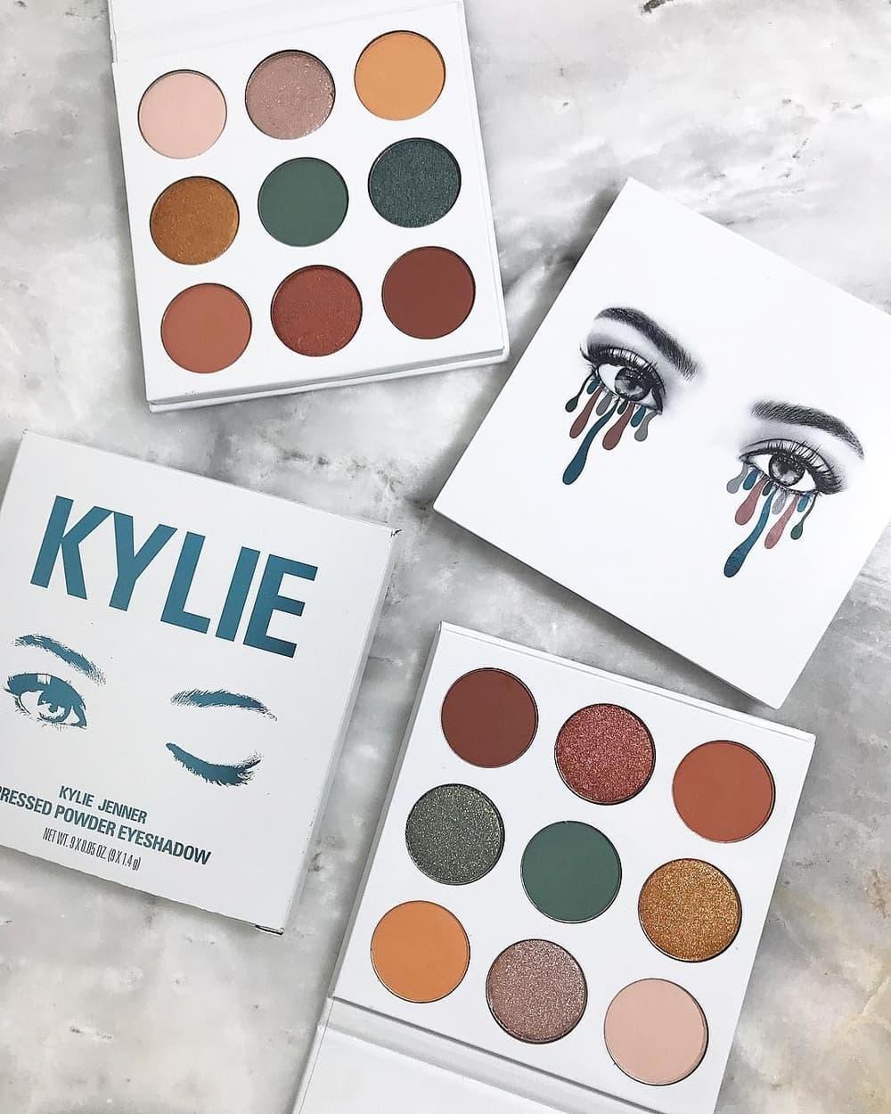 Kylie Jenner Luncurkan Palet Eyeshadow Baru