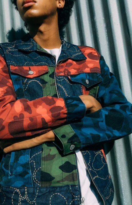 Rangkaian Koleksi Streetwear Kolaborasi Levi's x Bape