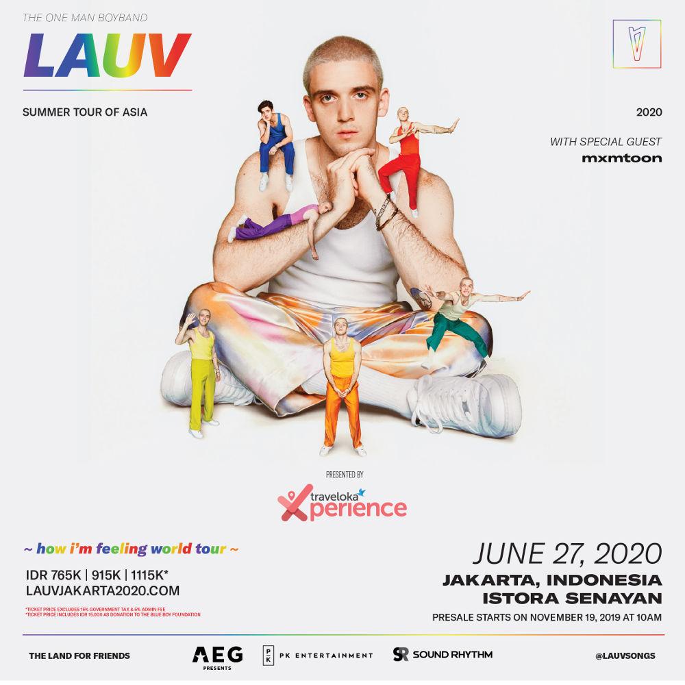 Lauv Umumkan Tanggal Konser di Indonesia