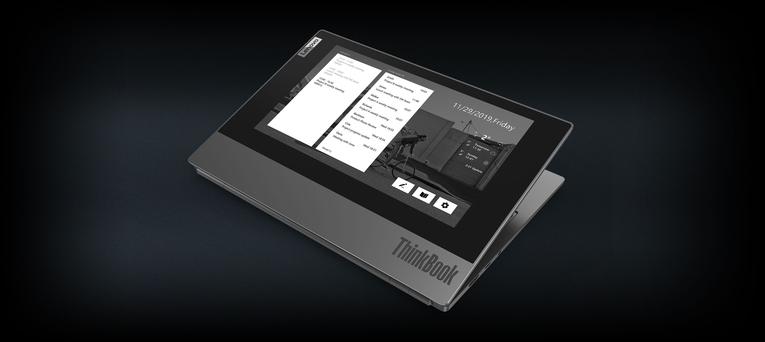 Lenovo Hadirkan Dual Screen Dalam ThinkBook Plus