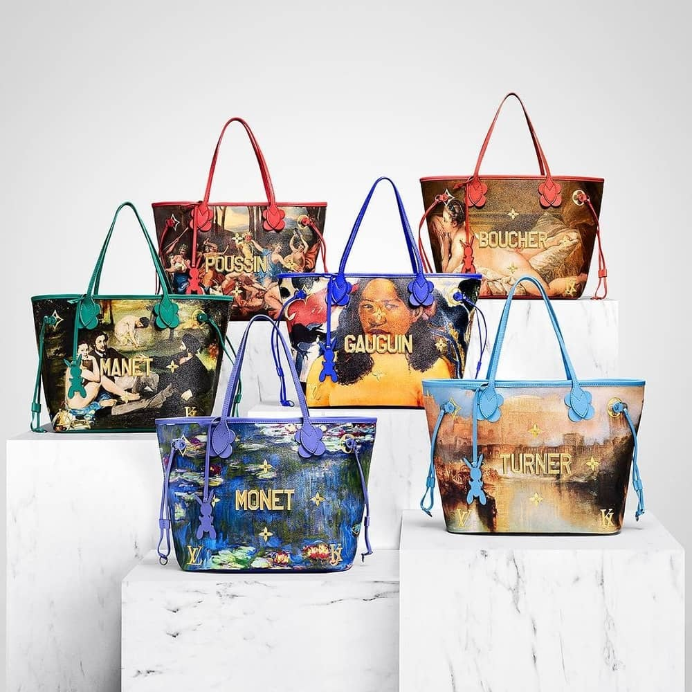 Louis Vuitton Kembali Berkolaborasi Dengan Jeff Koons