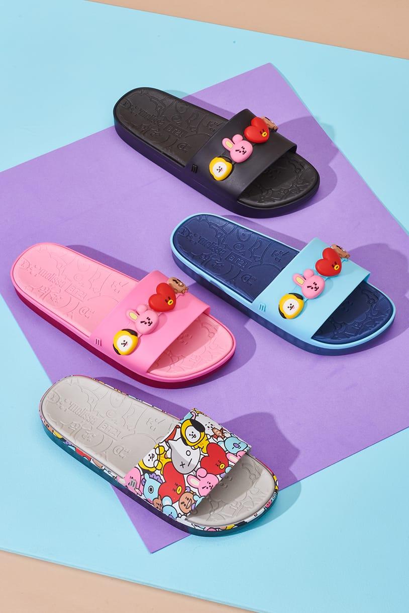 Brand Sepatu Melissa Gandeng BT21 Untuk Koleksi Terbarunya