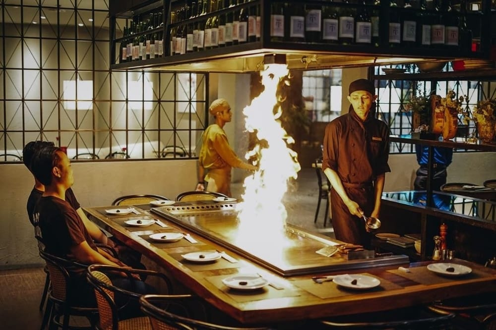 Mencicipi Menu Khas Jepang Di Maison Tatsuya Teppanyaki