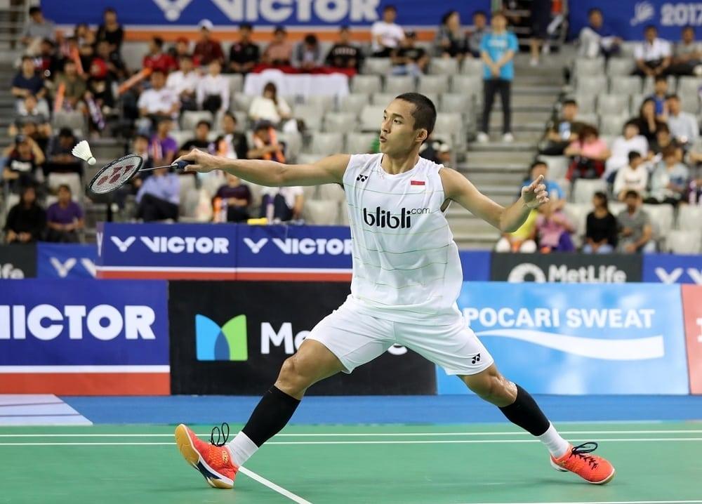 Mengenal Pemain Badminton Tampan, Jonatan Christie