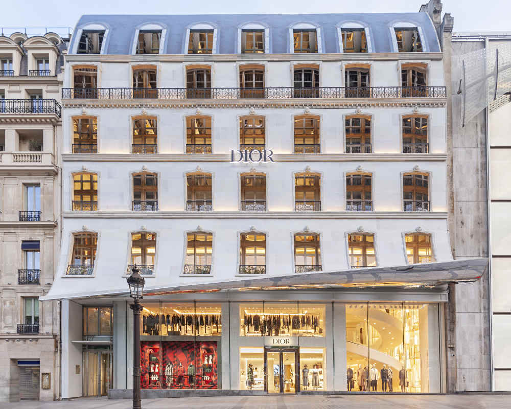 Mengintip Butik Dior di Champs-Élysées Paris