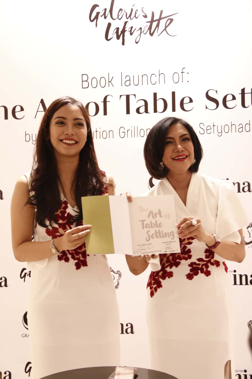 Meriahnya Peluncuran Buku The Art of Table Setting