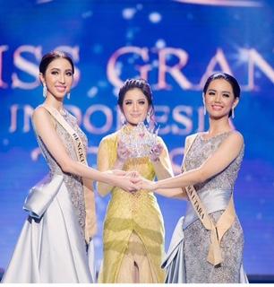 Nadia Purwoko dan Mahkota Miss Grand Indonesia 2018