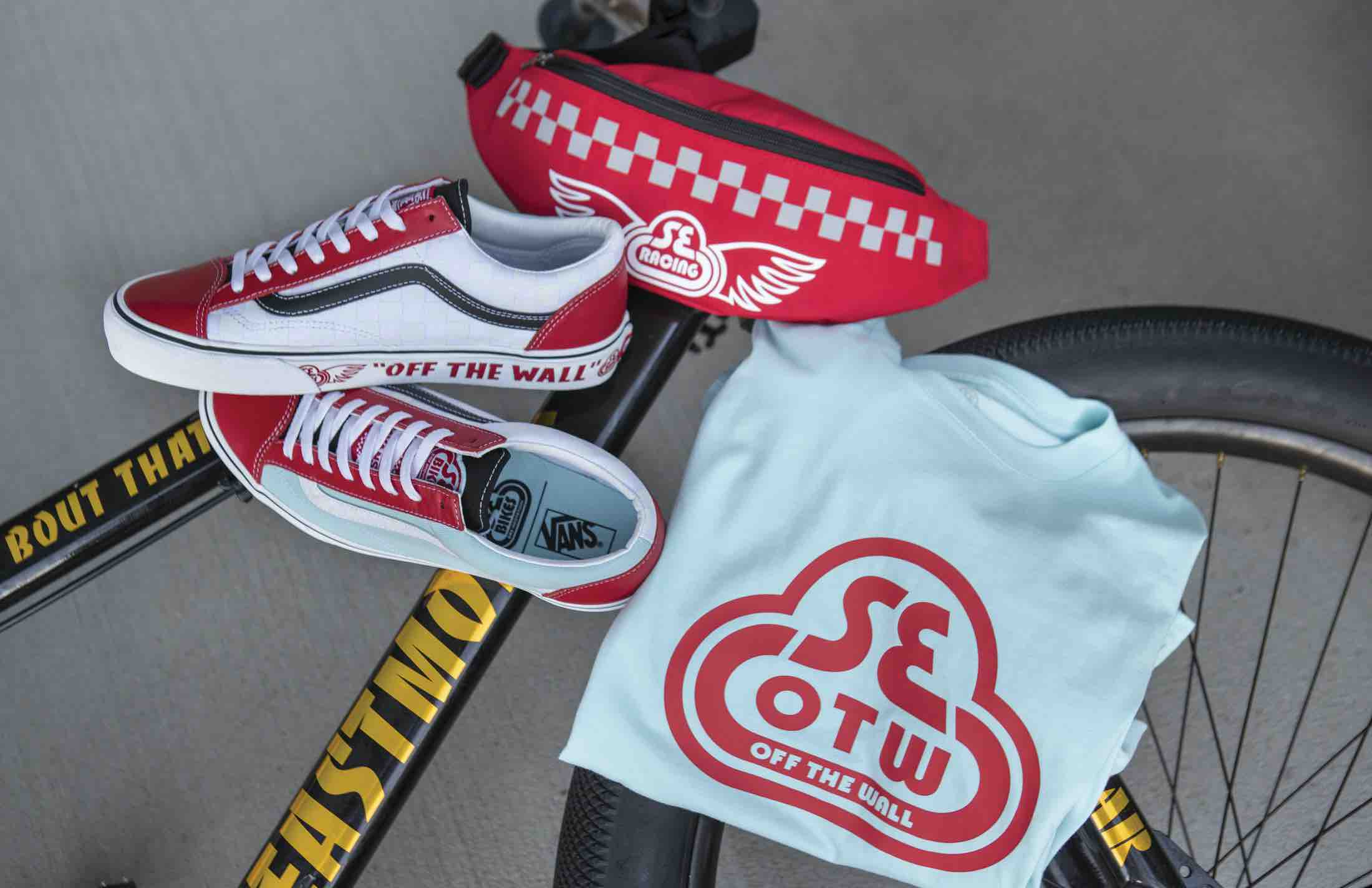 New Release Collab Vans x SE Bikes, Your New Biker's Style!