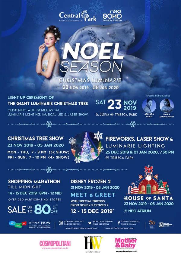 Noel Season Central Park Mall