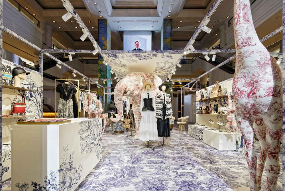 Nuansa Klasik di Butik Pop Up Dior di Plaza Indonesia