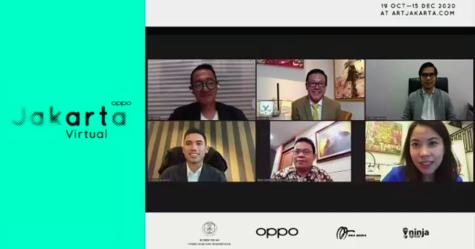 OPPO Art Jakarta 2020 Pertahankan Ekosistem Seni Rupa