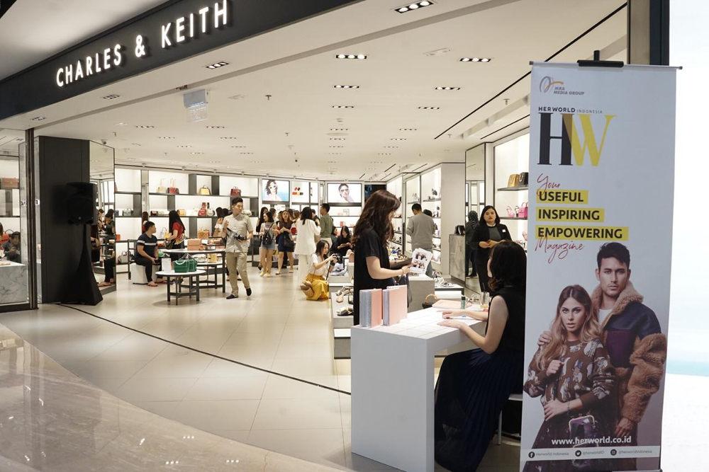 Peluncuran Koleksi Terbaru Charles & Keith di Surabaya