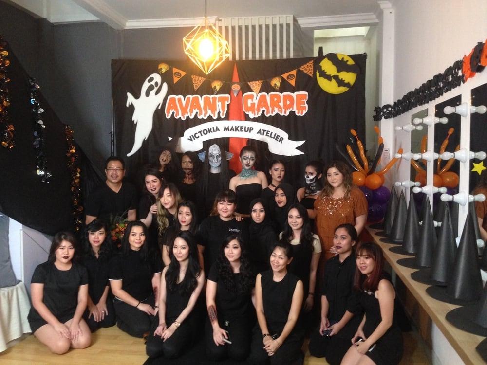 Persiapan Victoria Makeup Atelier Menjelang Halloween
