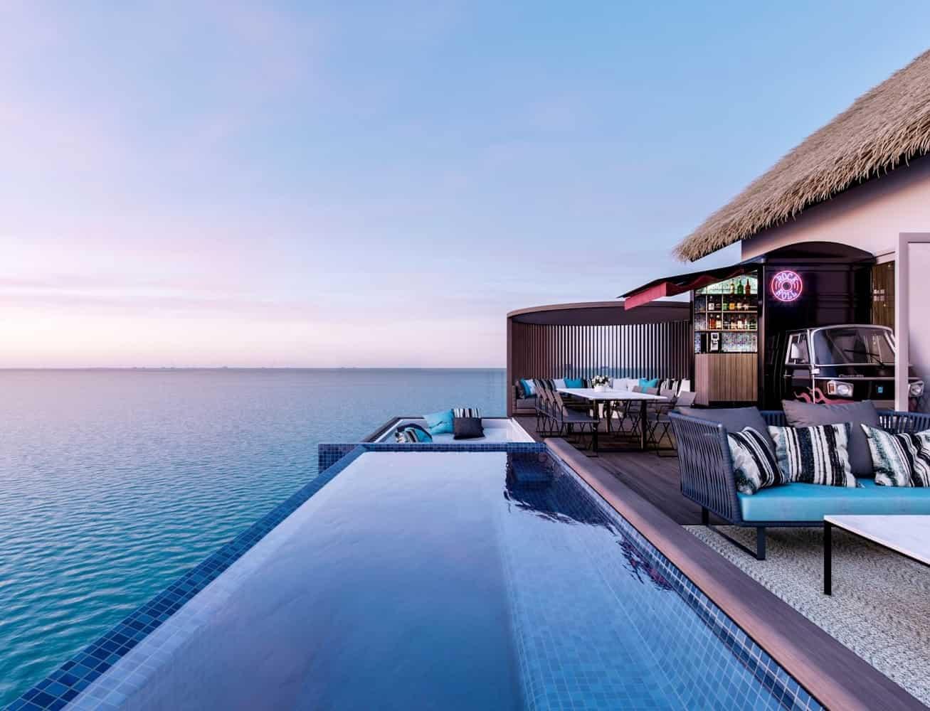 Pertama Kalinya, Hard Rock Hotel Maldives Dibuka