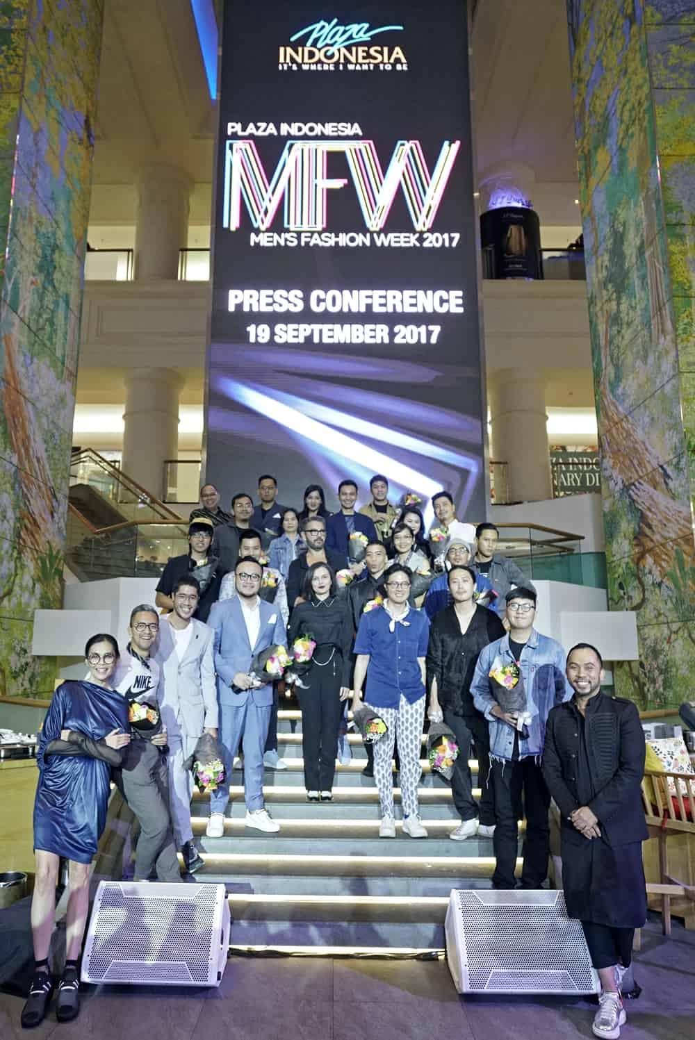 Plaza Indonesia Kembali Hadirkan Men's Fashion Week