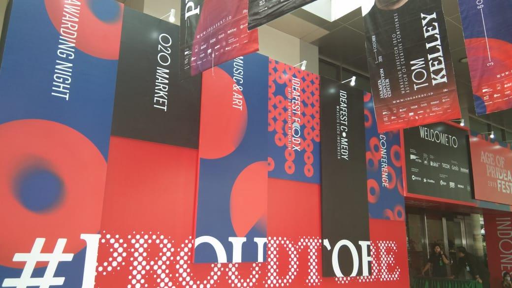 Resmi Dibuka, IdeaFest 2019 Usung Kebanggaan Indonesia