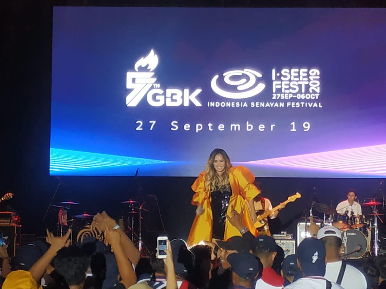 Riuh Festival Outdoor 'GBK Mandiri I SEE FEST 2019'