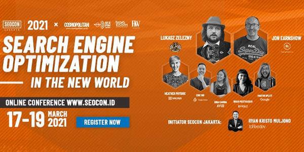 SEOCON 2021 - Search Engine Optimization in the New World
