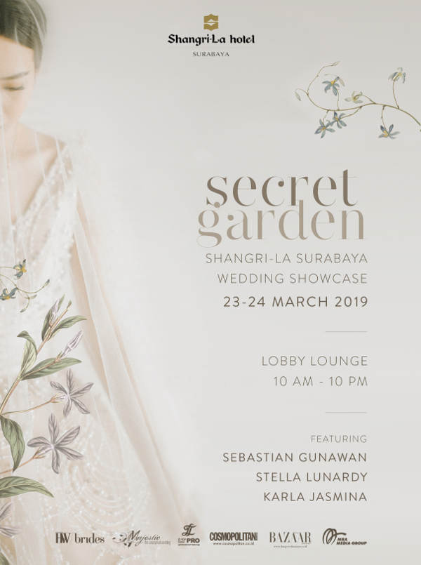 Secret Garden - Shangri-La Wedding Showcase 2019